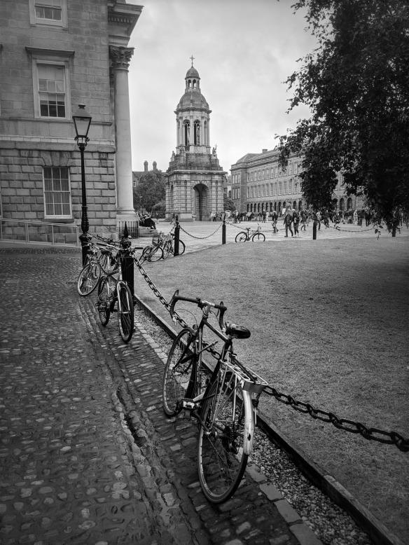 The Trinity College campus (c) Trinity  College Dublin.